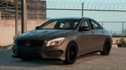 Mercedes-Benz CLA45 AMG Black DTD edition for GTA 5 miniature 1