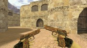 Dual Elites Узор мертвеца for Counter Strike 1.6 miniature 1
