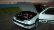 Volkswagen Golf 3 ABT VR6 Turbo Syncro for GTA Vice City miniature 5
