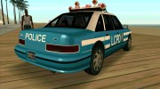 Beta Police car HD для GTA San Andreas миниатюра 2