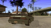 Pontiac Fiero V8 for GTA San Andreas miniature 4
