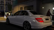Mercedes-Benz C63 AMG for GTA 4 miniature 5