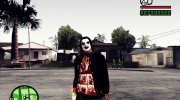 Slipknot куртка for GTA San Andreas miniature 1