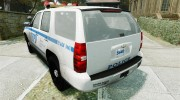 Chevrolet Tahoe NYPD V.2.0 for GTA 4 miniature 3
