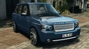 Land Rover Supercharged 2012 v1.5 for GTA 4 miniature 1
