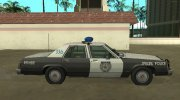 Ford LTD Crown Victoria 1987 Medford Special Police for GTA San Andreas miniature 6
