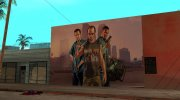 GTA V Wallgraffiti for GTA San Andreas miniature 1
