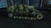 Hummel 06 для World Of Tanks миниатюра 5