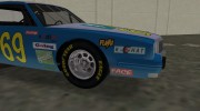 1981 Pontiac GranPrix Hotring for GTA Vice City miniature 6