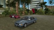 1996 Chevrolet Impala (VC Style) for GTA Vice City miniature 3
