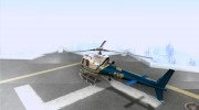AS350 Ecureuil for GTA San Andreas miniature 3
