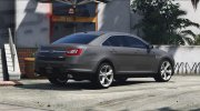 Ford Taurus SHO 2010 for GTA 5 miniature 4