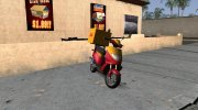 GTA IV Pegassi Faggio Delivery for GTA San Andreas miniature 1