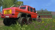 Mercedes G65 AMG 6x6 v.1 for Farming Simulator 2015 miniature 5