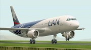 Airbus A320-200 LAN Airlines - 80 Years Anniversary (CC-CQN) for GTA San Andreas miniature 1