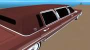 Cadillac Fleetwood Brougham 1985 Limousine for GTA Vice City miniature 8