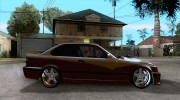 BMW M3 E36 Light Tuning для GTA San Andreas миниатюра 5