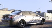 BMW M5 E60 1.0a for GTA 5 miniature 4