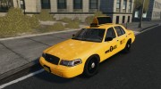 Ford Crown Victoria NYC Taxi 2012 для GTA 4 миниатюра 7