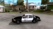 Ford Crown Victoria 1994 Police для GTA San Andreas миниатюра 2