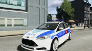 Ford Focus Macedonian Police for GTA 4 miniature 1