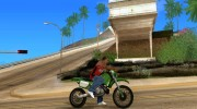 Sanchez SM Cateye для GTA San Andreas миниатюра 5