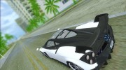 Pagani Huayra Bare Carbon for GTA Vice City miniature 3