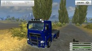 MAN TGX HKL with container v 5.0 Rost for Farming Simulator 2013 miniature 6