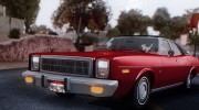 Plymouth Fury Salon (RL41) 1978 для GTA San Andreas миниатюра 3
