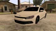 Volkswagen Scirocco for GTA San Andreas miniature 3