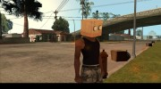 Bot Fan Mask From The Sims 3 для GTA San Andreas миниатюра 5