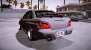 Subaru Impreza WRX STi Modification for GTA San Andreas miniature 3