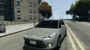 Citroen C4 2009 VTS Coupe v1 для GTA 4 миниатюра 1