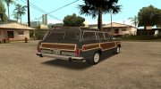 Jeep Grand Wagoneer 1991 (Fixed) for GTA San Andreas miniature 3