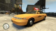 1995 Ford Crown Victoria LC Taxi for GTA 4 miniature 1