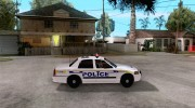 Ford Crown Victoria Police for GTA San Andreas miniature 5