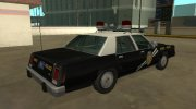 Ford LTD Crown Victoria 1987 New Mexico State Police for GTA San Andreas miniature 3