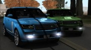 Land-Rover Range Rover Supercharged Series IV  2014 для GTA San Andreas миниатюра 20