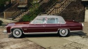 Cadillac Fleetwood Brougham Delegance 1986 для GTA 4 миниатюра 2