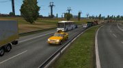 ГАЗ 31105 Такси в трафик v1.1 for Euro Truck Simulator 2 miniature 4