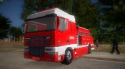 DAF XF 530 Fire Truck for GTA Vice City miniature 4