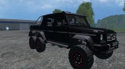 Mercedes-Benz G65 AMG 6X6 for Farming Simulator 2015 miniature 1
