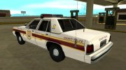 Ford LTD Crown Victoria 1991 New Castle County Police for GTA San Andreas miniature 4
