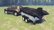 Dacia Duster for Spintires 2014 miniature 3