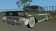 Chevrolet Impala 1958 for GTA Vice City miniature 1