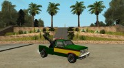 Paintable Towtruck by Vexillum version 2 для GTA San Andreas миниатюра 2
