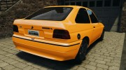 Ford Escort L 1994 Custom для GTA 4 миниатюра 3