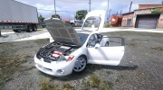 Mitsubishi Eclipse 2006 for GTA 5 miniature 11
