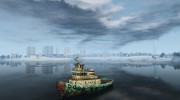 Realistic Rusty Tugboat для GTA 4 миниатюра 1