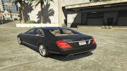 Mercedes-Benz S600 2009 for GTA 5 miniature 2